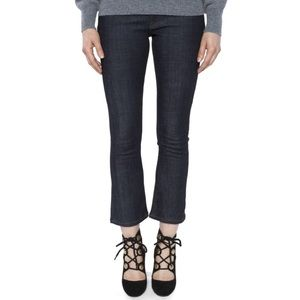 NWOT Victoria Victoria Beckham Cropped Flare Jeans